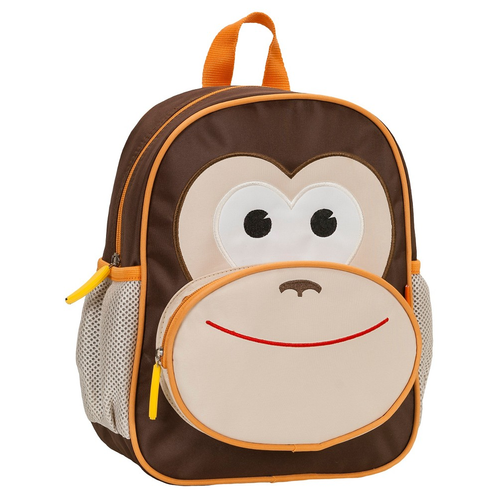 "Image of ""Rockland 12.5"""" Junior My First Backpack - Monkey, Kids Unisex, Size: Small"""