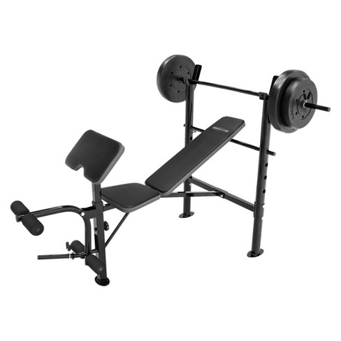 Competitor Pro Bench with 80lb Weight Set - image 1 of 2