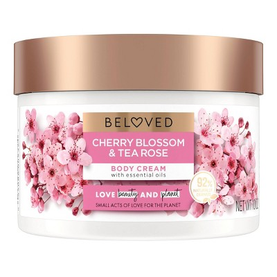 Beloved Cherry Blossom & Tea Rose Body Cream - 10oz