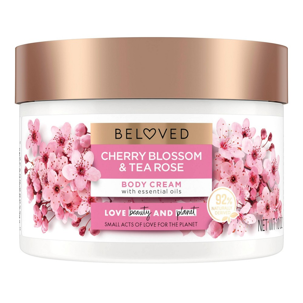 Beloved Cherry Blossom 38 Tea Rose Body Cream 10oz