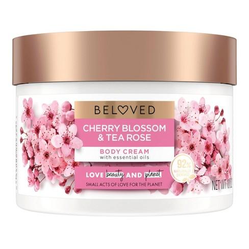 Beloved Cherry Blossom & Tea Rose Body Cream - 10oz - image 1 of 4