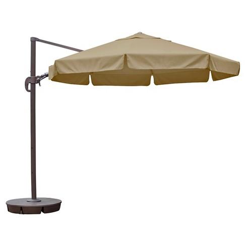 Island Umbrella Freeport 11 Octagonal Cantilever Target