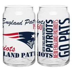 NFL 2pk Spirit Can Glasses