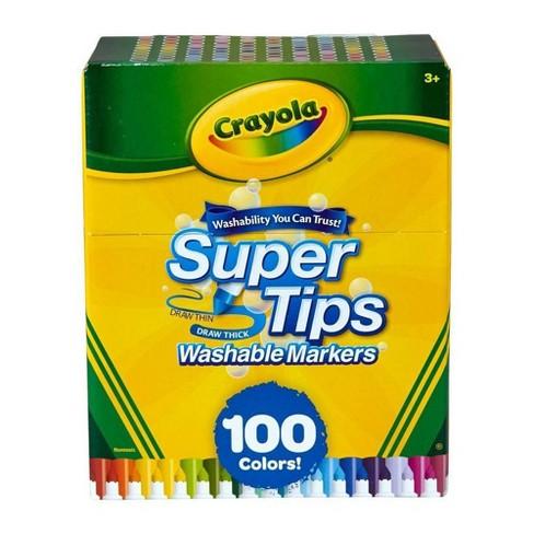 Crayola 100pk Super Tips Washable Markers - image 1 of 1