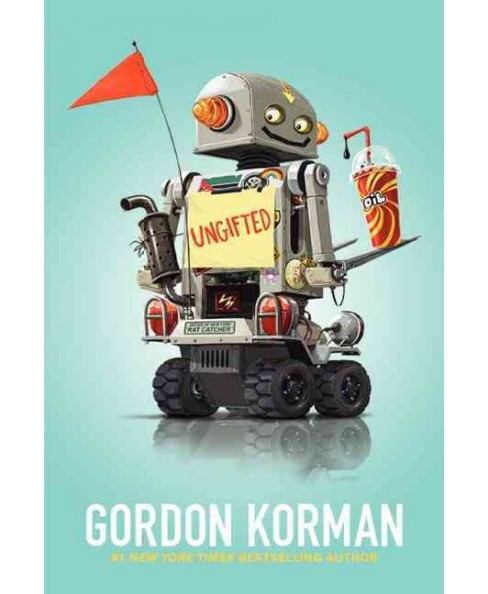 Ungifted -  Reprint by Gordon Korman (Paperback) - image 1 of 1