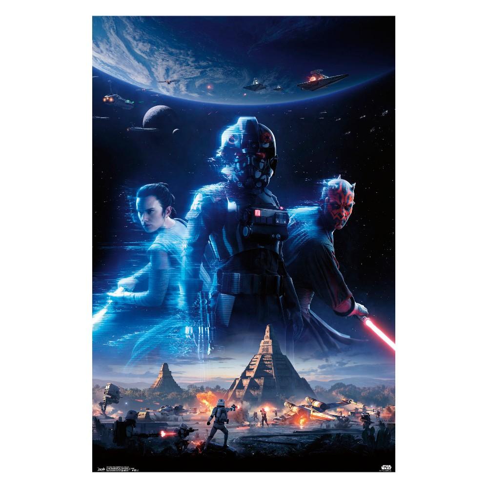 Star Wars Battlefront Ii Key Art Unframed Wall Poster Print 34