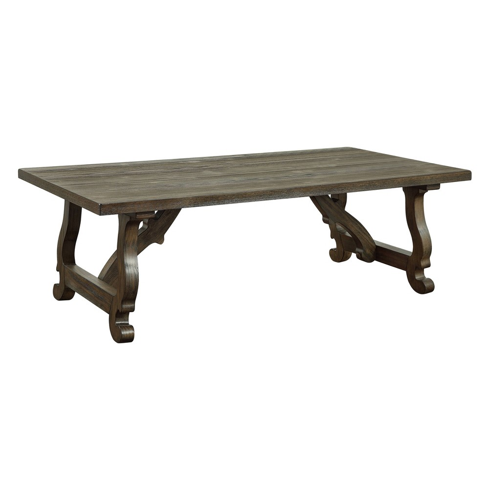 Orchard Park Cocktail Table Brown - Treasure Trove