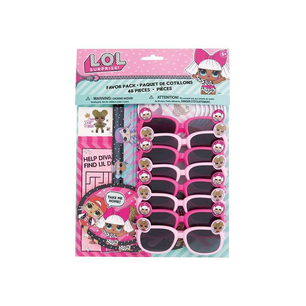48ct L.O.L. Surprise! And Party Favor Pack, Multi-Colored