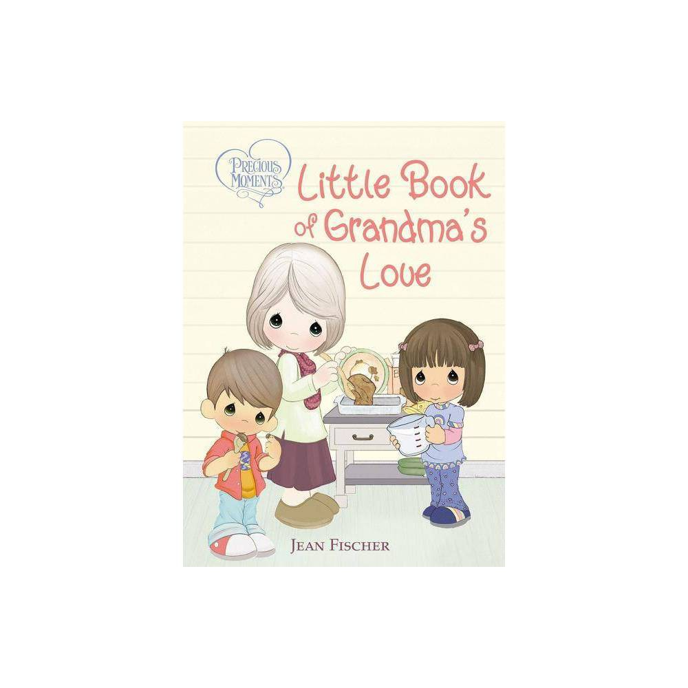 Precious Moments Little Book of Grandma's Love - by Jean Fischer (Board_book) Grandma's love is the best kind of love! And nothing is more special than time together, whether you're making cookies, playing games, or just cuddled up. Precious Moments Little Book of Grandma's Love celebrates the special connection grandmothers share with their grandchildren and features classic Precious Moments art; sweet, rhyming text; and Scripture. Time with Grandma is always fun! And what could be more fun than snuggling close and reading together about all the reasons grandmas and grandchildren love each other so very much? From gardening together to playing games to that special hug that only Grandma can give, you'll love seeing all the ways a grandma's love is so unique. Through the classic Precious Moments(R) artwork, fun poems, sweet prayers, and Bible verses, Precious Moments Little Book of Grandma's Love will remind your favorite grandma and her grandchildren that only God gives the gift of grandma's love.