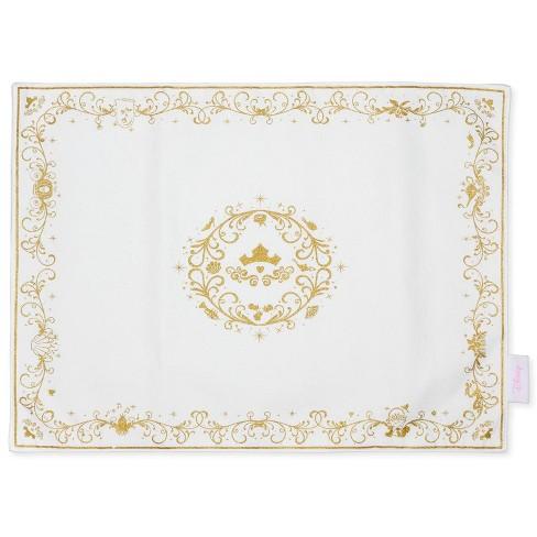 Robe Factory LLC Disney Princess Cotton Placemat Set | Set Of 4 18 x 14 Inch Cotton Fabric Mats - image 1 of 4
