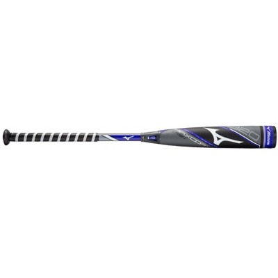 Mizuno B20-Maxcor-Crbn - Big Barrel Youth Usa Baseball Bat (-10) Youth - Boys Size 30 Inches In Color Grey-Blue (9150)