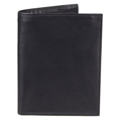 Men's Leather Passport/Visa Holder - Goodfellow & Co™ Black One Size