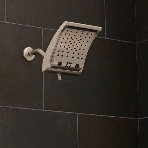 6 Setting Contour Rain Shower Head Brushed Nickel Oxygenics Target