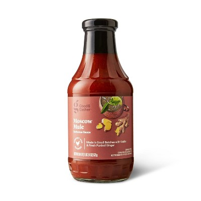 Moscow Mule Barbecue Sauce - 18.4oz - Good & Gather™