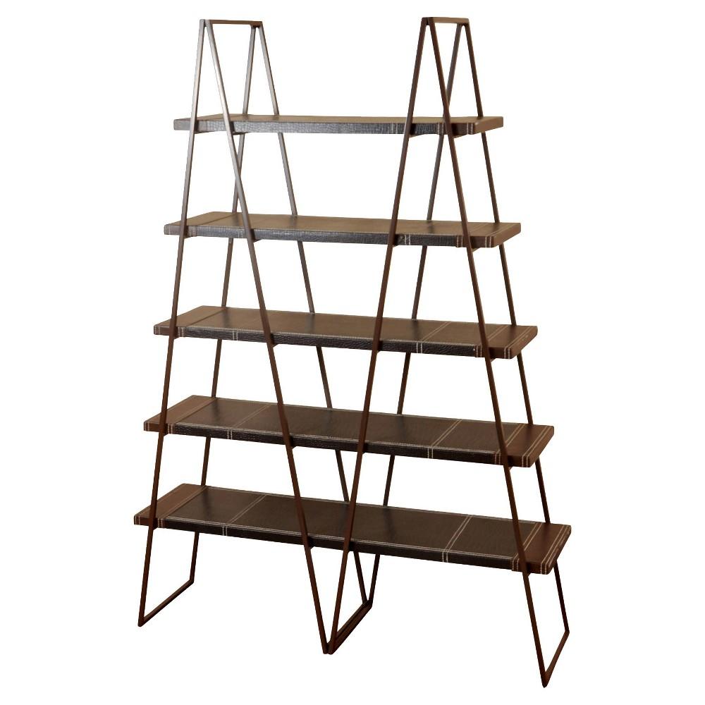 71 Bookcase Wood 5 Shelf - StyleCraft