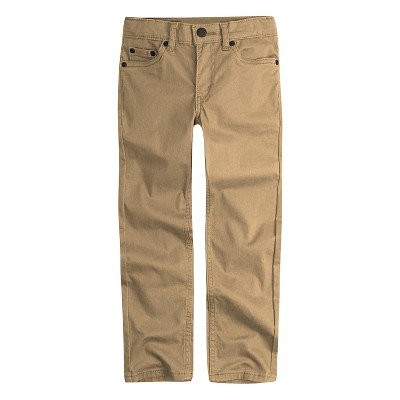 Levi's® Toddler Boys' Slim Fit Suede Chino Pants – Harvest Gold Khaki 2T