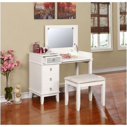 Vanity Set.Eva Vanity Set White Linon