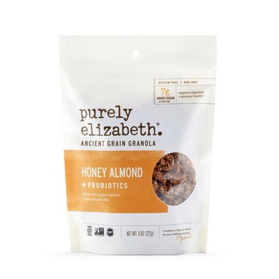 Purely Elizabeth Honey Almond Probiotic Granola - 8oz