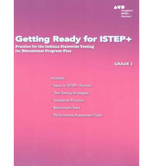 Getting Ready for ISTEP+, Grade 3 : Practice for the Indiana Statewide Testing for Educational - image 1 of 1