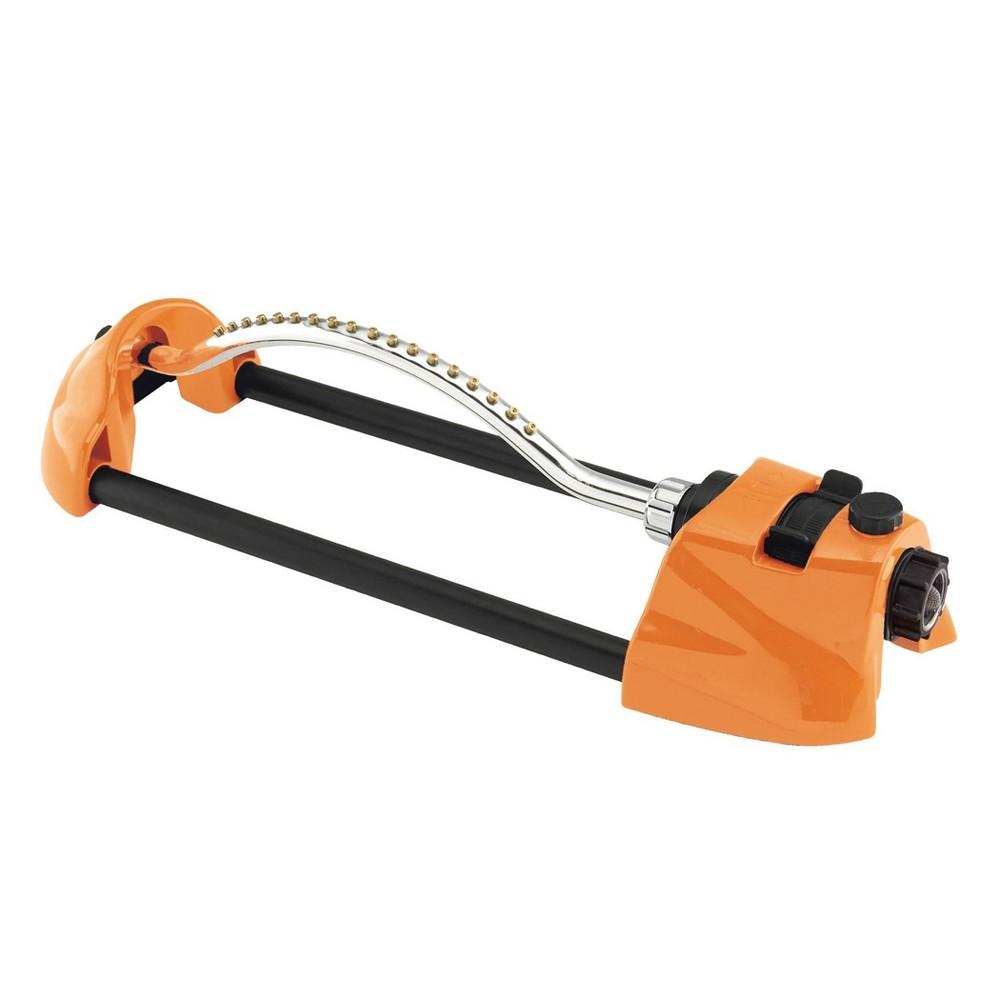 Image of ColorStorm Metal Oscillating Sprinkler Orange - Dramm