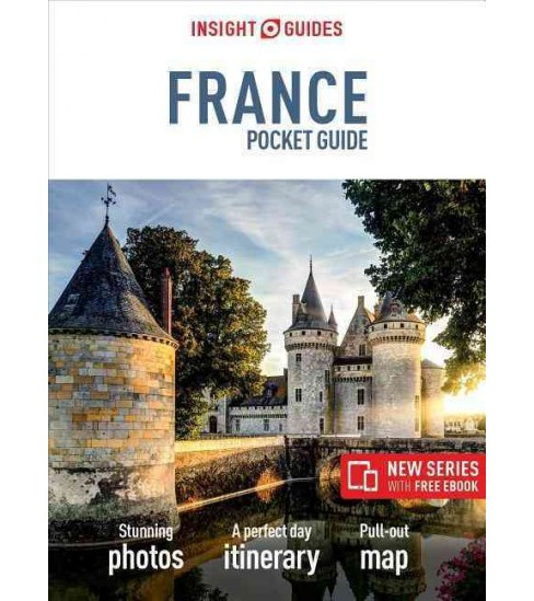 Insight Guides France Pocket Guide (Paperback) - image 1 of 1