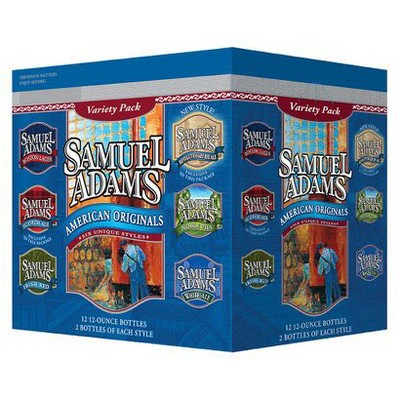 Samuel Adams® Summer Styles Beer - 12pk / 12oz Bottles