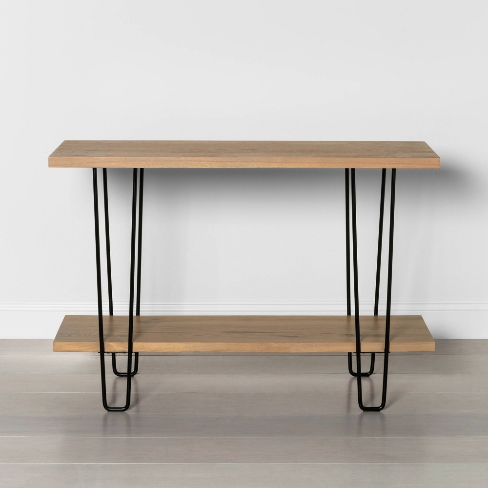 Image of Hairpin Console Table - Hearth & Hand with Magnolia