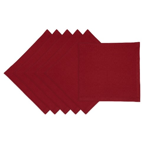 "Red Redwood Napkin (Set Of 6) (20""X20"") - Design Imports - image 1 of 1"