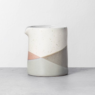 Refined Stoneware Creamer Canister Copper / Gray - Hearth & Hand™ with Magnolia