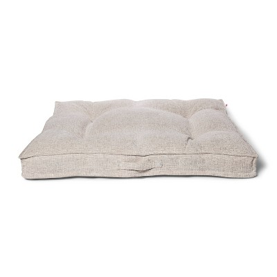 Tufted Gusset Chenile Jacquard Dog Bed - XL - Boots & Barkley™