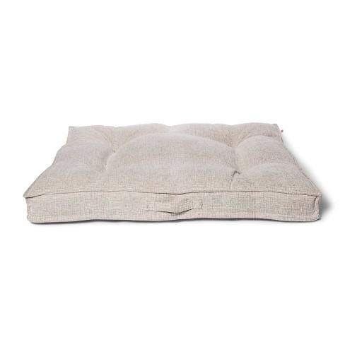 Tufted Gusset Chenile Jacquard Dog Bed - XL - Boots & Barkley™ - image 1 of 3