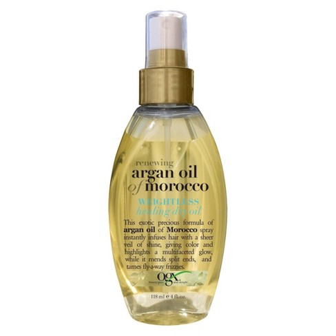 OGX Moroccan Argan Healing Oil Spray - 4 fl oz - image 1 of 3