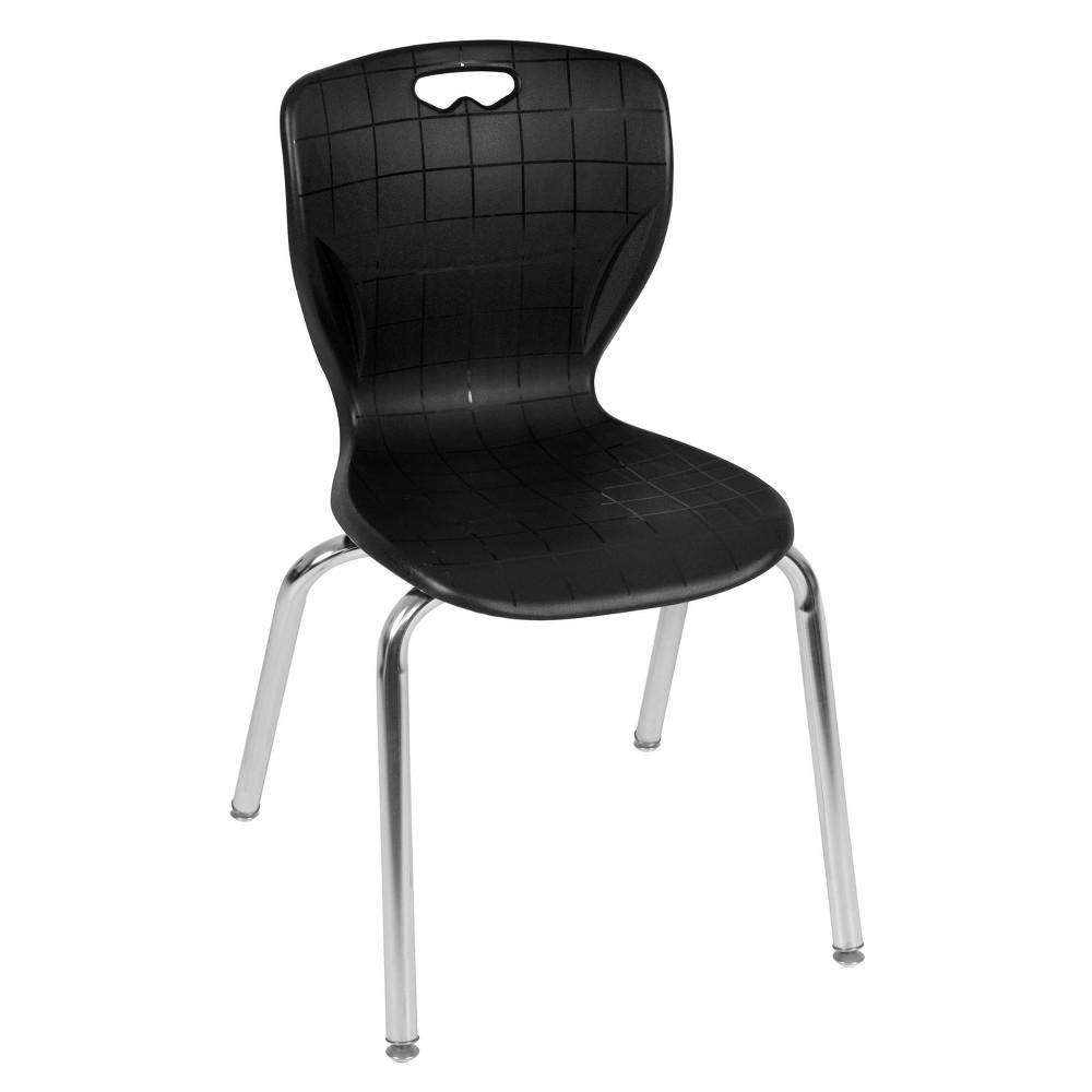 "Image of ""18"""" Luke Stack Chair Black - Regency"""