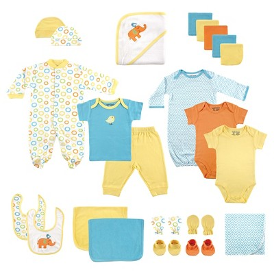 Luvable Friends Baby 24 Piece Deluxe Gift Set - Yellow