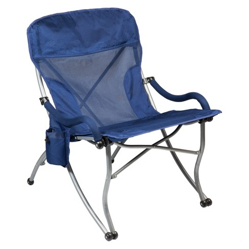 Picnic Time PT-XL Camp Chair with Carrying Case - Navy (12.0 Lb) - image 1 of 4
