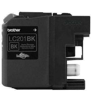 Brother LC 201 Black Ink Cartridge Standard (LC-201BKS) 1738544