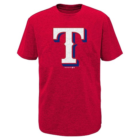 huge selection of 78d87 6826d MLB Texas Rangers Boys' Performance T-Shirt with Gel Print