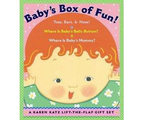 Baby's Box of Fun : Toes, Ears, & Nose!/ Where Is Baby's Belly Button?/ Where Is Baby's Mommy? - image 1 of 1