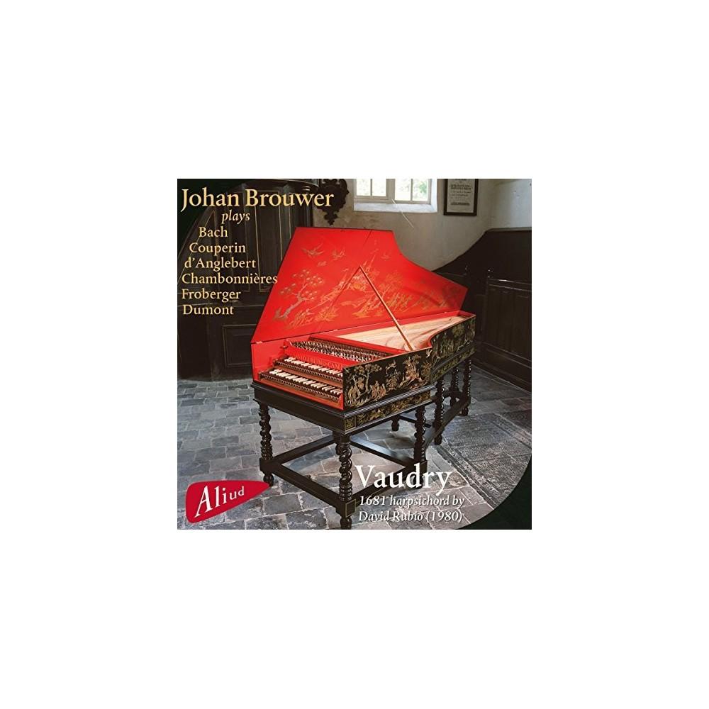 Johan Brouwer - Vaudry 1681 Harpsichord (CD)