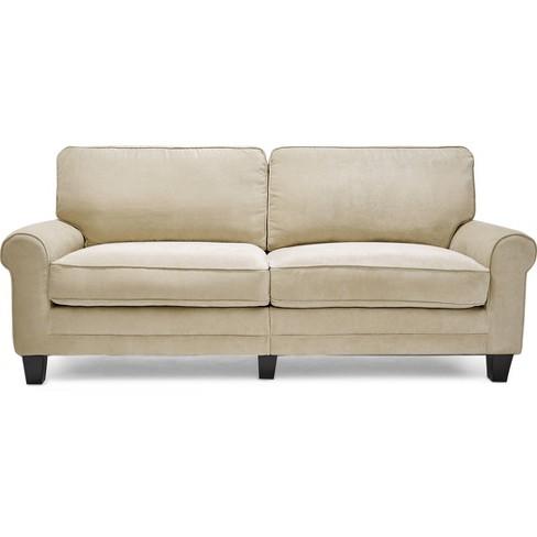 Marvelous Serta Rta Copenhagen Collection 78 Sofa In Marzipan Cr43541Pb Pdpeps Interior Chair Design Pdpepsorg