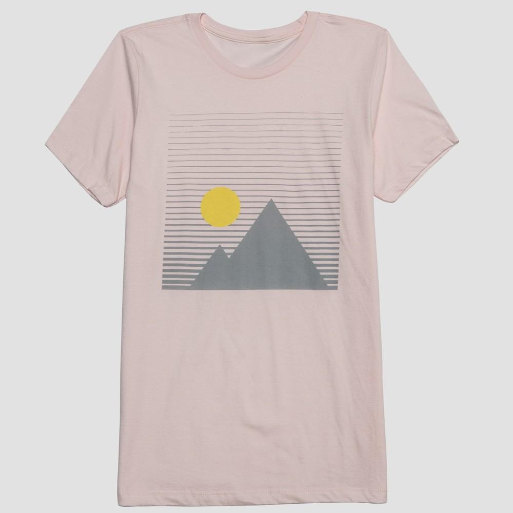 Men's Roam Free Short Sleeve Graphic T-Shirt - Dusk Pink XL
