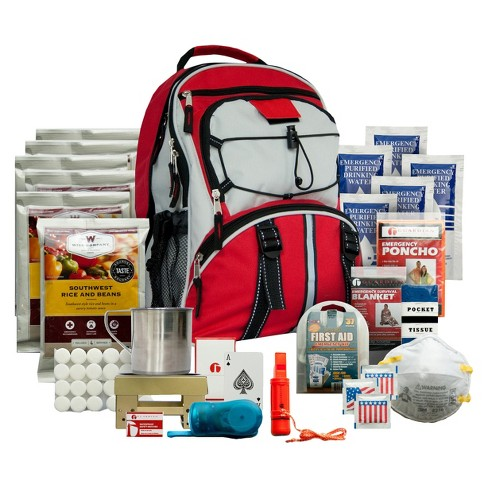 Wise Food 5 Day Survival Back Pack - Red - image 1 of 1