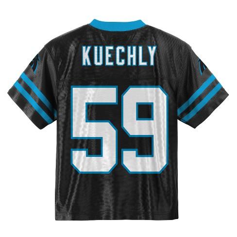 half off 59c37 ab510 Carolina Panthers Boys' Luke Kuechly Jersey - S