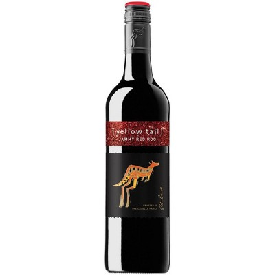 Yellow Tail Jammy Red Roo Wine - 750ml Bottle
