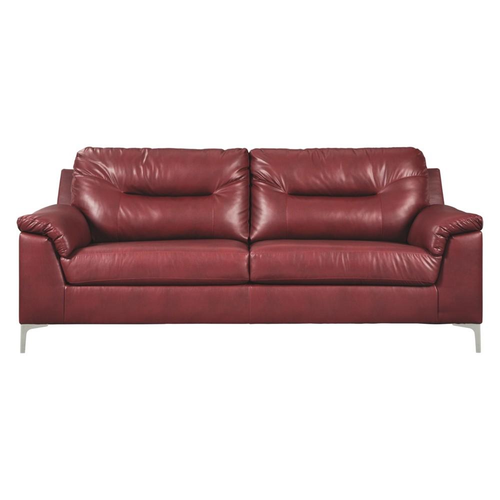 Tensas Sofa Crimson (Red) - Signature Design by Ashley