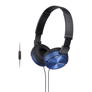 Sony On-the-Ear Wired Headphones for Smartphones - Blue