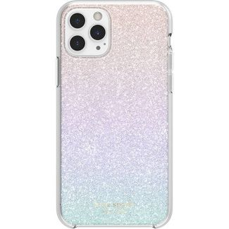 Kate Spade New York Apple iPhone 11 Pro/X/XS Hard Shell Case Sunset Ombre Glitter - Ombre Glitter