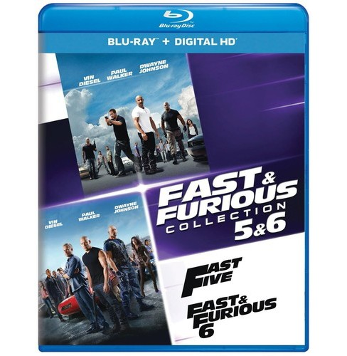 Fast & furious collection 5 & 6 (Blu-ray) - image 1 of 1