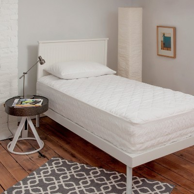 Downlite Dorm Mattress Protector Pad & Cover - Twin XL White : Target
