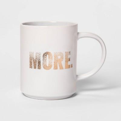 46oz Stoneware More Mug White - Room Essentials™